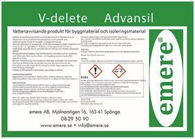V-delete Advansil  25-ltr-dunk