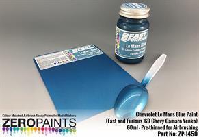 Chevrolet Le Mans Blue Paint 60ml (Fast and Furiou