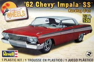 California Wheels '62 Chevy Impala SS Hardtop 2'n1