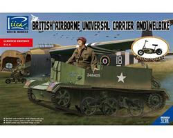 British Airborne Universal Carrier and welbike Lim