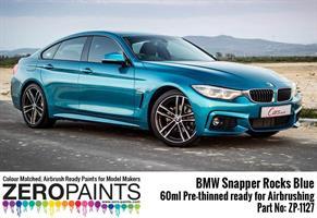 BMW Snapper Rocks Blue Pearl