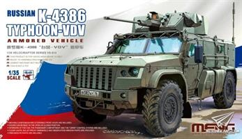Russian K-4386 Typhoon-VDV Armored Vehicle