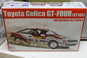 N°.01 Toyota Celica GT-FOUR (ST165)