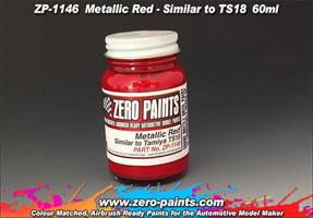 Metallic Red Paint (Similar to TS18) 60ml