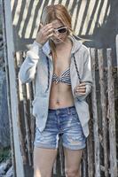 Hood fashion full zip 5436