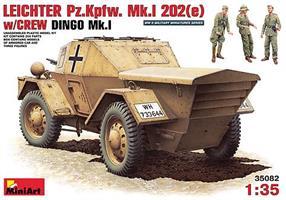 LEICHTER Pz.kpfw. 202(e) w/CREW DINGO Mk.I