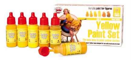 Yellow Paint Set