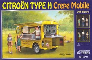 Citroën Type H Crepe Mobile with Figure