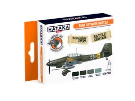 Early Luftwaffe paint set