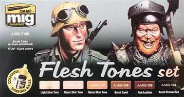 Flesh Tones Color Set