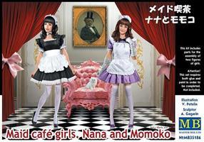 Maid cafè girls - Nana and Momoko