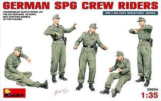 GERMAN SPG CREW RIDERS