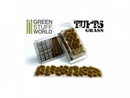 Grass TUFTS - 12mm self-adhesive Dry Brown