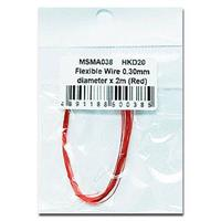 Flexible Wire 0,30mm Red