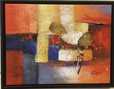B.Russell - Abstrakt maleri 5