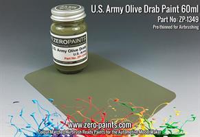 U.S. Army Willis Jeep Green Paint 60ml