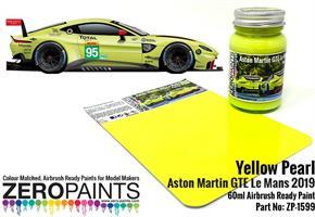 Yellow Pearl Aston Martin GTE Le Mans 2019