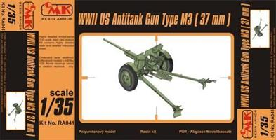 M3 US 37mm Anti-tank gun WW.II