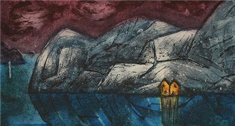Svein Erik Larsen-Langs en kyst (Natt)