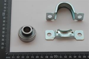 Bearing unit with high temp