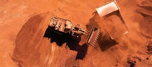 Kina ökar import av järnmalm