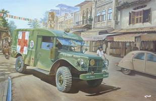M43 3/4 ton 4x4 Ambulance Truck