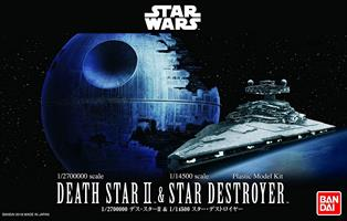 Star Wars Death Star II (1/2700000) & Star Destro