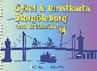 Cykel och turistkarta Göteborg