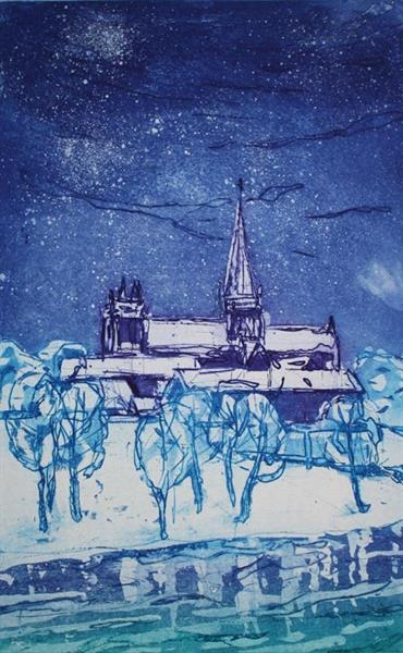 Svein Erik Larsen - Stjernenatt over Nidarosdomen