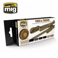 Tires & Track Color Set