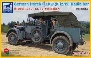 German Horch Fu.Kw. (Kfz. 15) Radio Car