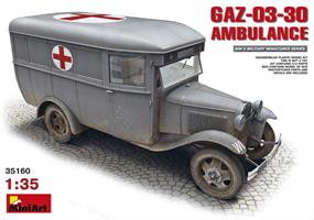 GAZ-03-30 AMBULANCE
