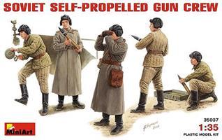SOVIET SELF-PROPELLED GUN CREW