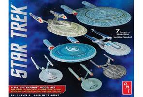 Star Trek USS Enterprise Box Set Snap - 7 kits