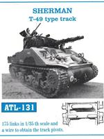 SHERMAN T-49 type track