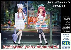 Kawaii fashion leaders. Minami and Mai