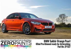 BMW Sakhir Orange Pearl