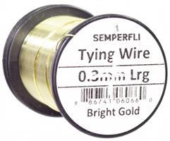 0.3 mm wire -Bright Gold