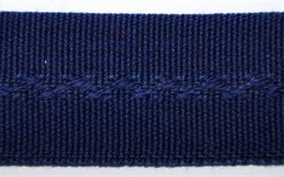 Damebånd - Ensfarget - Marine Blå
