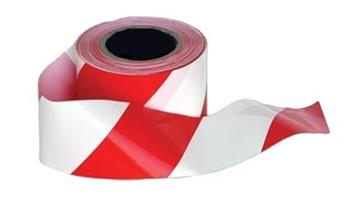 Varningsband röd/vit