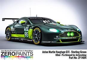 Aston Martin Vantage GTE - Sterling Green Paint 60