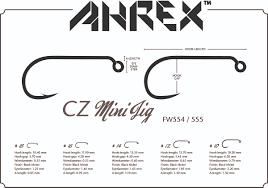 Ahrex 554 #  cz mini jig