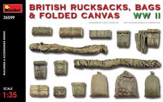 British Rucksacks, Bags & Folded Canvas WWII