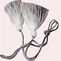 Dusker - Belte - Hvit, grå
