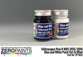Volkswagen Polo R WRC 2015 - Blue and White Paint