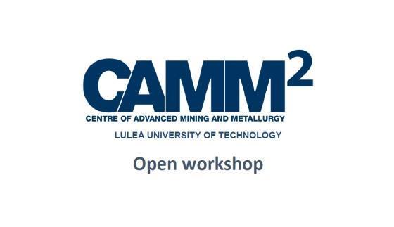 CAMM2 Open workshop