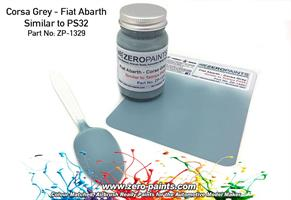 Corsa Gray - Fiat Abarth (Similar to PS32) Paint 6