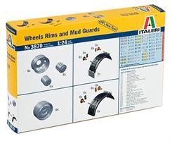 Wheels Rims and Mud Guards