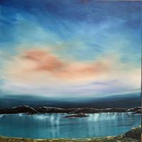 Børge Strand - Rosa sky