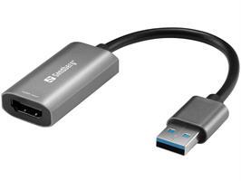 HDMI CAPTURE TILL USB, 4K